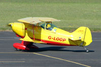 G-LOOP @ EGBG - Based Pitts S-1C at Leicester 2009 May Bank Holiday Fly-in
