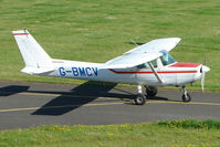 G-BMCV @ EGBG - Cessna F152 at Leicester 2009 May Bank Holiday Fly-in
