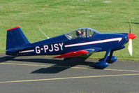 G-PJSY @ EGBG - Vans RV-6 at Leicester 2009 May Bank Holiday Fly-in