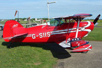 G-SIIS @ EGBG - Based Pitts S-1S at Leicester 2009 May Bank Holiday Fly-in