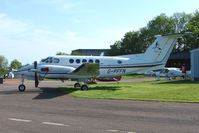 G-PFFN @ EGBG - Puffin Books' Beech 200 at Leicester 2009 May Bank Holiday Fly-in