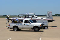 03-3680 @ AFW - At Alliance, Fort Worth - Local maintenance crew making repairs on the ramp - by Zane Adams