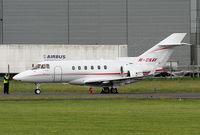 M-ONAV @ EGNR - Hawker 900XP, Monavia Ltd - by Chris Hall