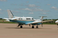 N21 @ AFW - FAA King Air at Alliance, Fort Worth - by Zane Adams