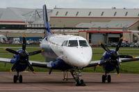 G-MAJI @ EGNR - Eastern Airways - by Chris Hall