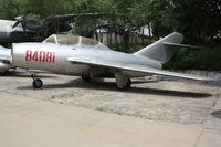 84081 - MiG-15UTI  Located at Datangshan, China - by Mark Pasqualino
