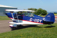 G-IIDY @ EGBG - Pitts S-2B at Leicester 2009 May Bank Holiday Fly-in