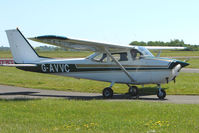 G-AVVC @ EGBG - Cessna 172H at Leicester 2009 May Bank Holiday Fly-in