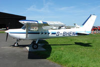 G-BHEN @ EGBG - Cessna FA152 at Leicester 2009 May Bank Holiday Fly-in