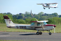 G-BWNB @ EGBG - Cessna 152 at Leicester 2009 May Bank Holiday Fly-in