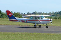 G-BSFP @ EGBG - Cessna 152 at Leicester 2009 May Bank Holiday Fly-in