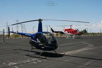 N137DF @ KGEU - Robinson Helicopter R22 BETA - by Dawei Sun