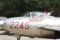 2249 - MiG-15  Located at Datangshan, China - by Mark Pasqualino