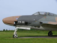 FR-30 @ EBNM - Republic RF-84F Thunderflash 51-17015/FR-30 Belgian Air Force - by Alex Smit