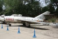 63863 - MiG-15  Located at Datangshan, China - by Mark Pasqualino