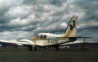 G-AZOD @ ABZ - PA-23 Aztec of Peregrine Air Services at Aberdeen in the Summer of 1974. - by Peter Nicholson
