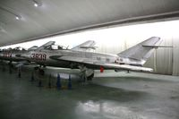 3839 - MiG-17F  Located at Datangshan, China - by Mark Pasqualino