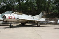 9214 - Shenyang J-6  Located at Datangshan, China - by Mark Pasqualino