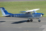 G-BWII @ EGBG - Cessna 150G at Leicester 2009 May Bank Holiday Fly-in