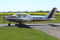 G-ATZS @ EGBG - Wassmer WA41 at 2009 May Fly-in at Leicester