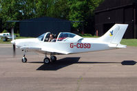 G-CDSD @ EGBG - Pioneer 300 at 2009 May Fly-in at Leicester