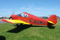 G-BGMJ @ EGBG - a 1952 Minicab GY 201 at Leicester 2009 May Bank Holiday Fly-in