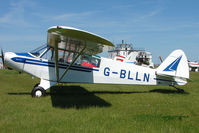 G-BLLN @ EGBG - 1954 Piper L18C at Leicester 2009 May Bank Holiday Fly-in