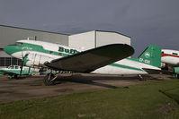 CF-CUE @ CYQF - Buffalo Douglas DC3 - by Yakfreak - VAP