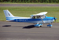 G-BKEV @ EGBG - Cessna F172M at Leicester 2009 May Bank Holiday Fly-in