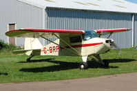 G-BRPY @ EGBG - Piper PA-15 at Leicester 2009 May Bank Holiday Fly-in