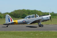 G-AOTY @ EGBG - WG472 - a 1951 DHC-1 Chipmunk - at Leicester 2009 May Bank Holiday Fly-in