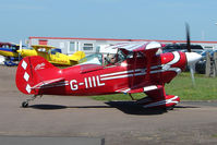 G-IIIL @ EGBG - Pitts S-1T  at Leicester 2009 May Bank Holiday Fly-in