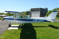 G-BKCE @ EGBG - Cessna F172P at Leicester 2009 May Bank Holiday Fly-in