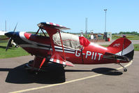 G-PITT @ EGBG - Pitts S-2A at Leicester 2009 May Bank Holiday Fly-in