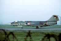 D-8257 @ EHLW - 306 Sqn was the last KLu squadron to operate the F-104 Starfighter. - by Joop de Groot