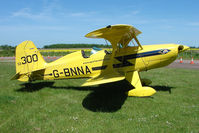 G-BNNA @ EGBG - Starduster at Leicester 2009 May Bank Holiday Fly-in