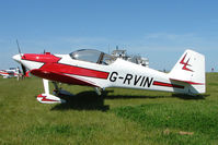 G-RVIN @ EGBG - Vans RV-6 at Leicester 2009 May Bank Holiday Fly-in