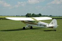 G-BPYN @ EGTH - 1. G-BPYN visiting Shuttleworth (Old Warden) Aerodrome. - by Eric.Fishwick