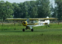 G-BPYN @ EGTH - 3. G-BPYN departing Shuttleworth (Old Warden) Aerodrome. - by Eric.Fishwick