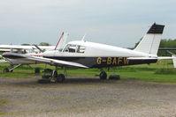 G-BAFW @ EGBD - Piper Pa-28-140 at Derby Eggington