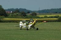 G-BPYN @ EGTH - 2. G-BPYN departing Shuttleworth (Old Warden) Aerodrome. - by Eric.Fishwick
