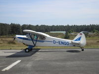 D-ENQO @ EBZR - Visitor at Chipmunk Fly In - by Henk Geerlings
