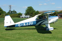 G-AJJU @ X3YF - Part of the 2009 UK Luscombe Tour as it reached Abbots Bromley
