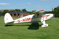 G-AGMI - Part of the 2009 UK Luscombe Tour as it reached Abbots Bromley