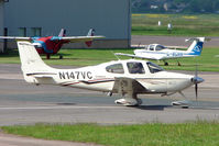 N147VC @ EGBJ - Cirrus SR22 at Gloucestershire Airport