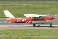 G-OSFS @ EGBJ - 1973 Cessna F177RG at Gloucestershire Airport