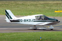 G-BKDJ @ EGBJ - Robin DR400 / 120 at Gloucestershire Airport