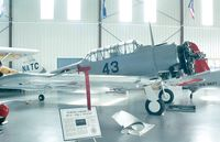 N24554 - North American SNJ-4 (USN) at the Mid Atlantic Air Museum, Reading PA