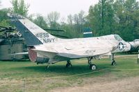134836 - Douglas F4D-1 / F-6A Skyray of the USN at the New England Air Museum, Windsor Locks CT - by Ingo Warnecke