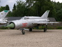 2007 - Mikoyan Mig21M Fishbed 2007 Polish Air Force part of the collection of Mr Piet Smets from Baarlo (PH) and stored in a small compound in Kessel (PH) - by Alex Smit
